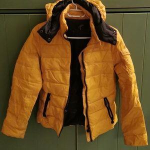 Puffer jacket coat